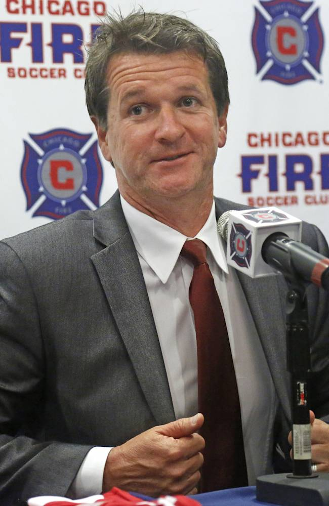 Chicago Fire hire Yallop as new coach