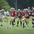 Injuries mar joint practice with 49ers and Ravens The Associated Press