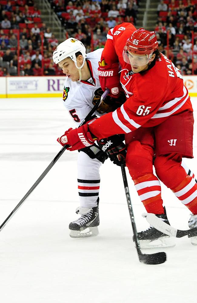 Chicago Blackhawks v Carolina Hurricanes