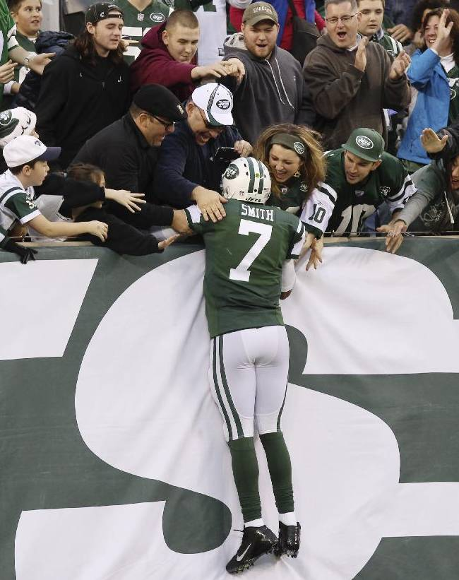 Geno giving Jets lots to consider in final stretch