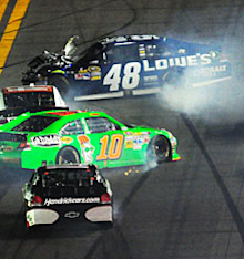 Death of a race car: The saga of JIMMIE JOHNSON's No. 48