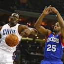 Jefferson leads Bobcats over 76ers 111-105 The Associated Press