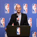 LAS VEGAS, NV - JULY 15: NBA Commissioner Adam Silver speaks at a press conference during the NBA Summer League on July 15, 2014 at the Wynn Hotel in Las Vegas, Nevada. (Photo by Garrett W. Ellwood/NBAE via Getty Images)