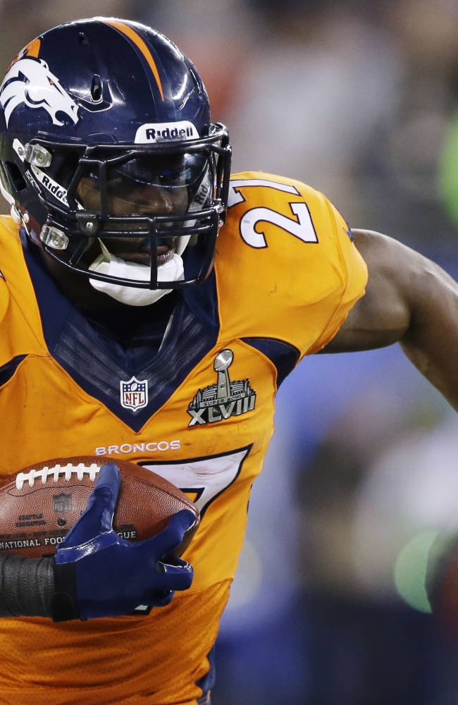 RB Knowshon Moreno signs 1-year deal with Dolphins