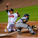 Braves take advantage of Smith's ejection to beat Brewers The Associated Press
