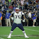New England Patriots defensive tackle Vince Wilfork (75) during the first half of NFL Super Bowl XLIX football game Sunday, Feb. 1, 2015, in Glendale, Ariz. (AP Photo/Mark Humphrey)