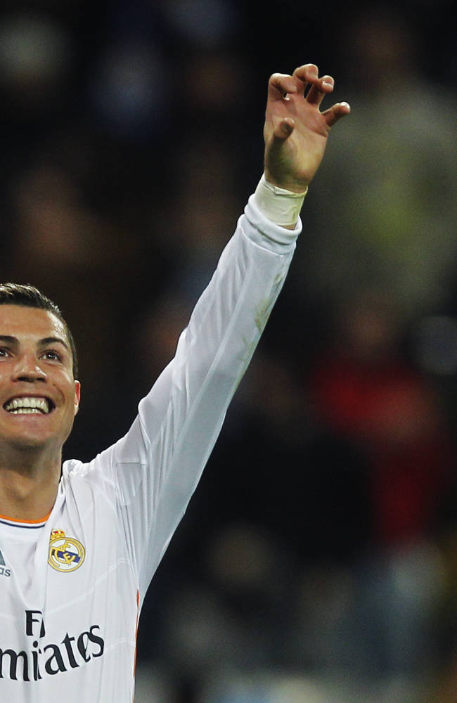 Ronaldo: Blatter rift settled in phone call