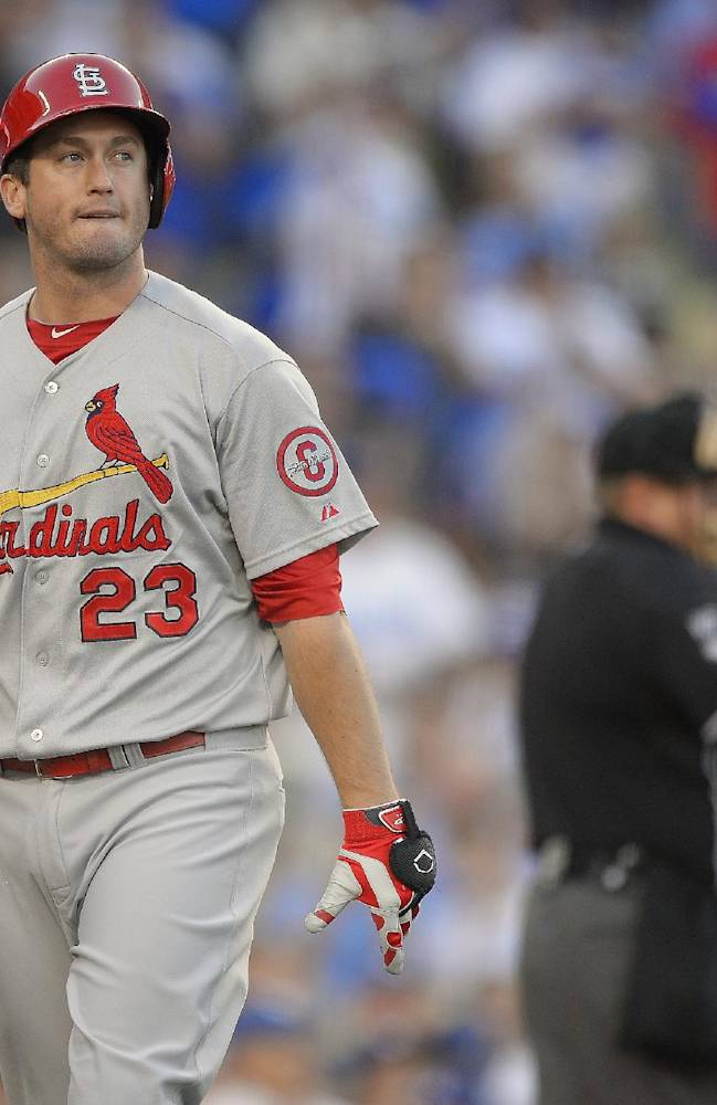 Cardinals homer twice to beat Dodgers 4-2 in NLCS