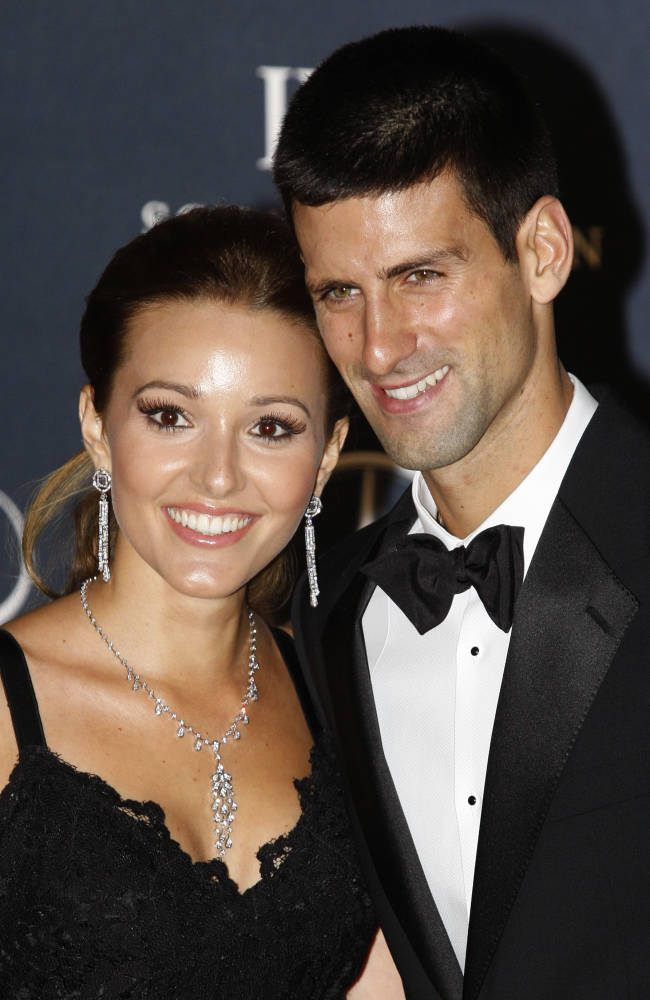 Wimbledon champ Novak Djokovic gets married