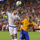 FC Chelsea and FC Barcelona in action on Tuesday,July,28, 2015, in Landover, Maryland. Chelsea and FC Barcelona face off at the 2015 International Champions Cup. Damian Strohmeyer/AP Images for International Champions Cup