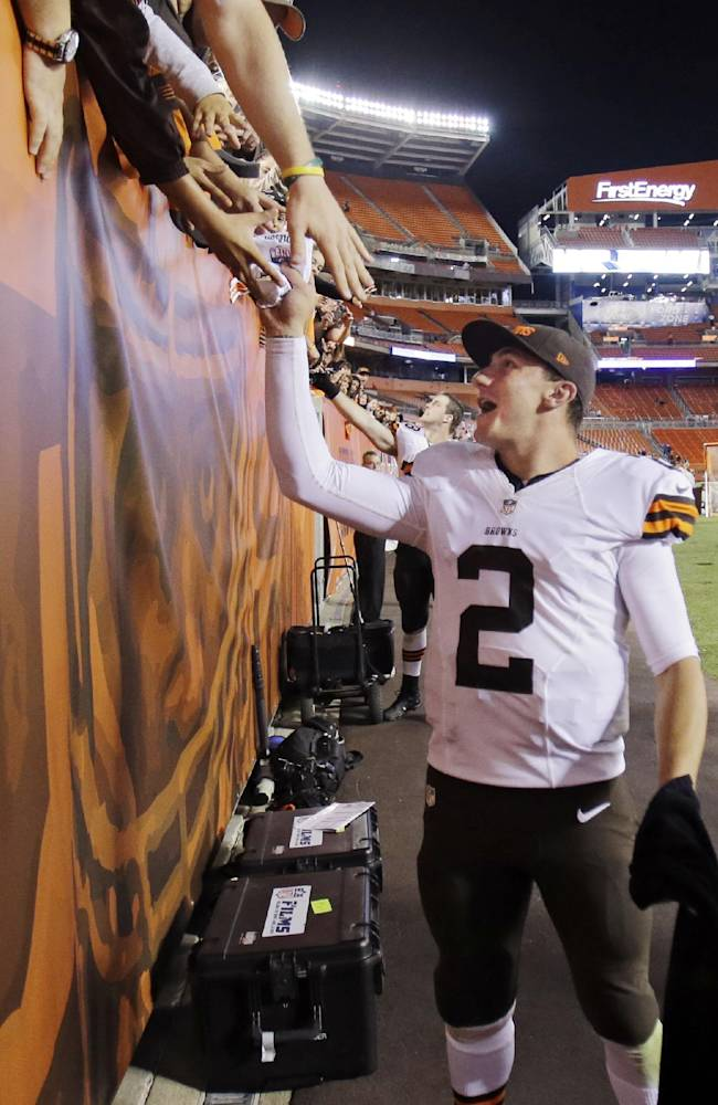 Manziel willing to share nickname with A&M's Hill