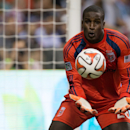 D.C. United goalkeeper Bill Hamid makes a save against the Vancouver Whitecaps during the second half of an MLS soccer game in Vancouver, British Columbia, on Saturday, Sept. 6, 2014 The Associated Press