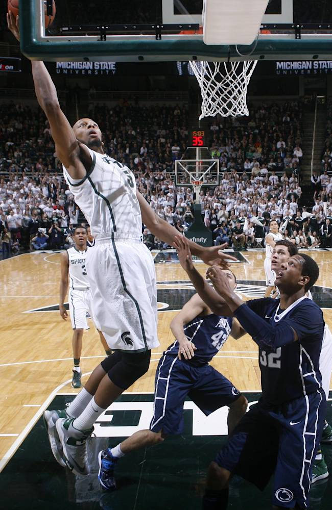 Payne back, Michigan State routs Penn State 82-67
