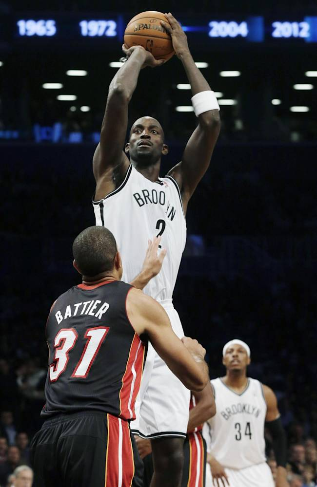 Nets retire Kidd's No. 5, then beat Heat 86-62