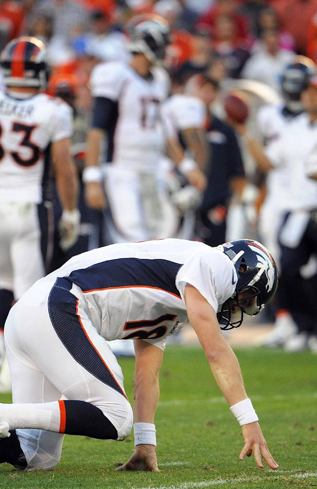Peyton Manning missing from practice