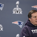 New England Patriots head coach Bill Belichick answers questions during a news conference Wednesday, Jan. 28, 2015, in Chandler, Ariz. The Patriots play the Seattle Seahawks in NFL football Super Bowl XLIX Sunday, Feb. 1, in Phoenix The Associated Press