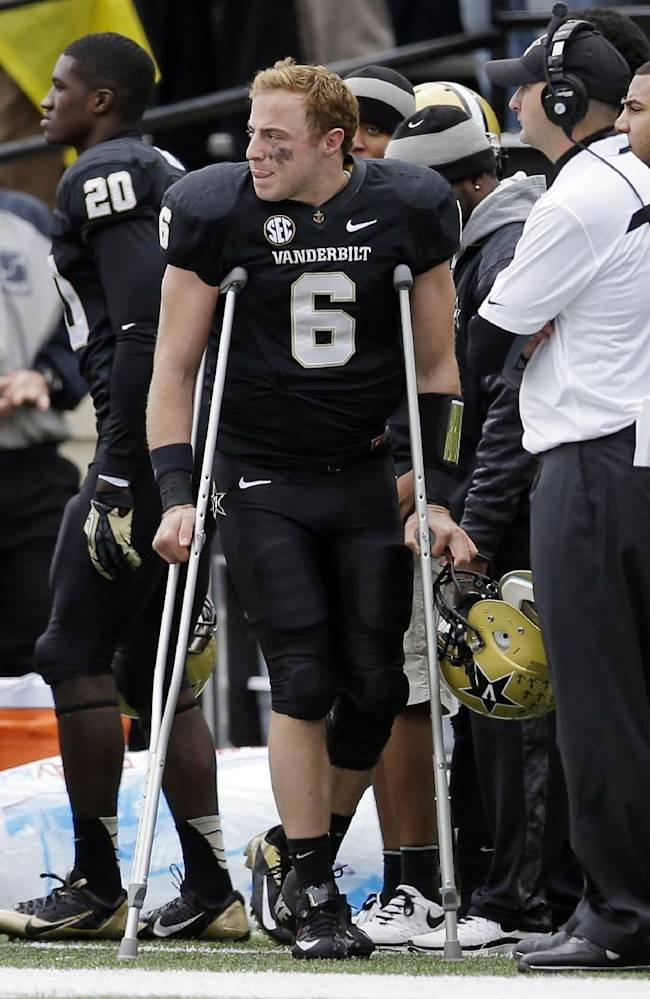 Texas A&M, Vanderbilt dealing with injured QBs