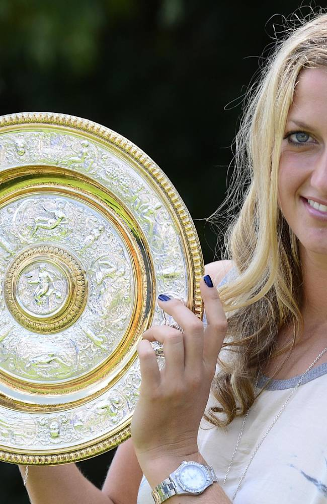 Man arrested after alleged threats against Kvitova