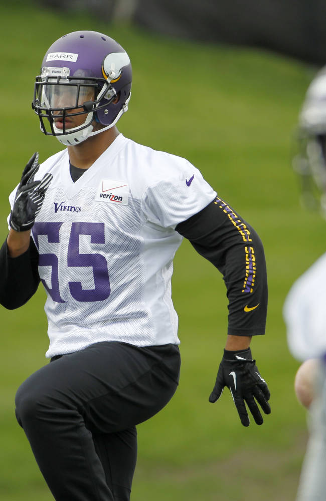 Zimmer gets his hands on Vikings rookies