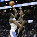 Kentucky's Julius Randle (30) shoots over Providence's Bryce Cotton during the first half of an NCAA college basketball game Sunday, Dec. 1, 2013, in New York The Associated Press
