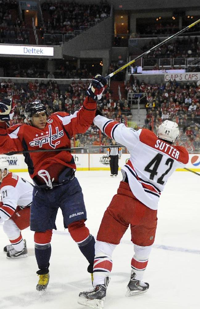Skinner gets 3; Hurricanes top Capitals 4-3 in OT