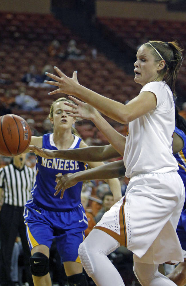 Enemkpali leads No. 3 Texas to win over McNeese