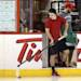 Ottawa Senators Jean-Gabriel Pageau takes some shots before practice in Ottawa, Ontario, Saturday, May 18, 2013, on the eve of Game 3 of the NHL hockey Stanley Cup playoff series against the Pittsburgh Penguins