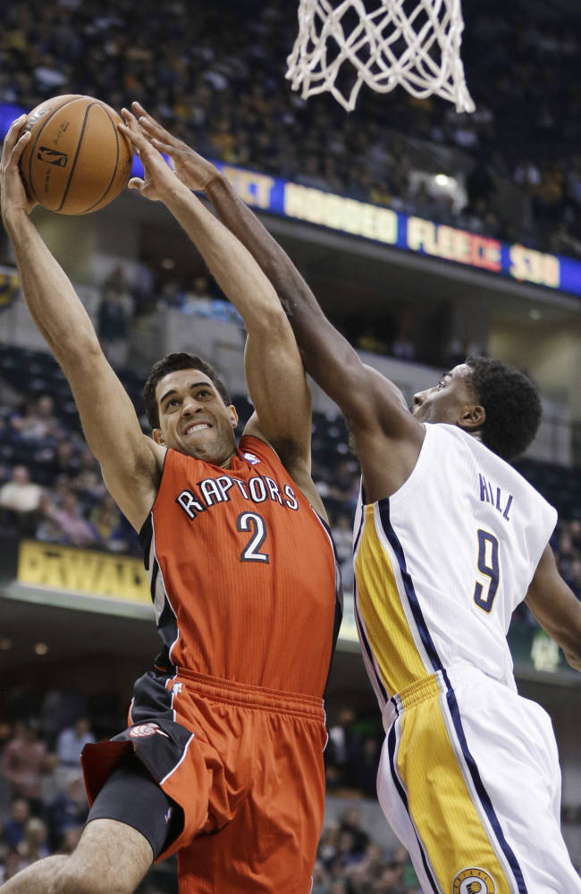George leads Pacers to 91-84 win over Raptors