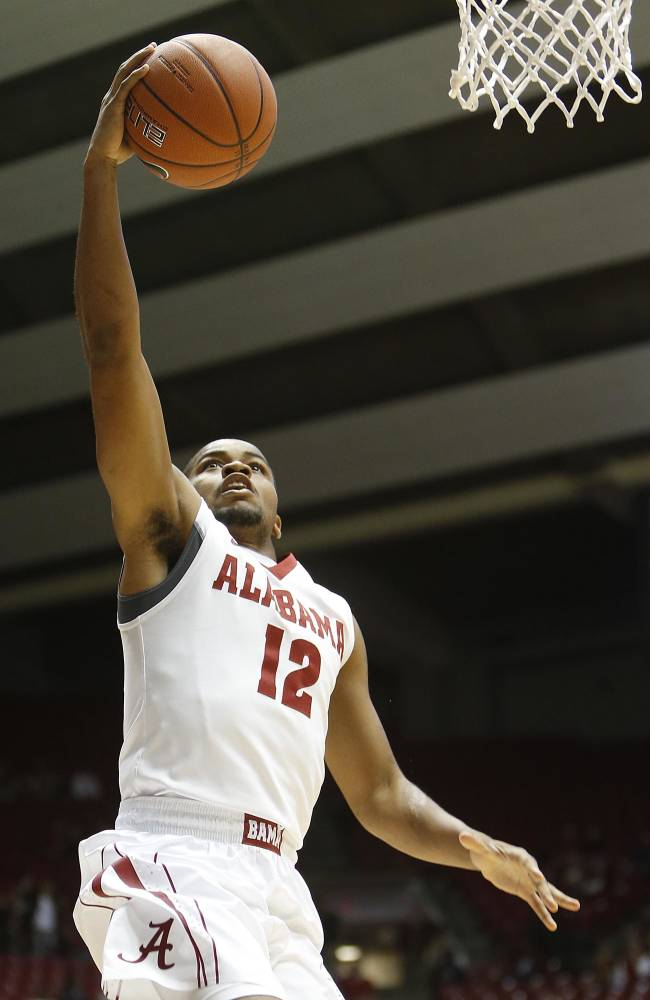 Releford's 29 leads Alabama past Texas Tech, 76-65