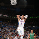 Westbrook scores 36 to lead Thunder past Celtics 122-118 The Associated Press
