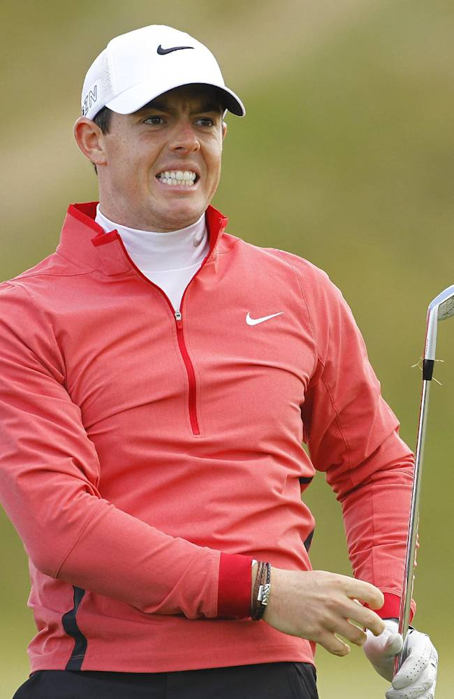 McIlroy shoots 80, risking another early exit at Irish Open