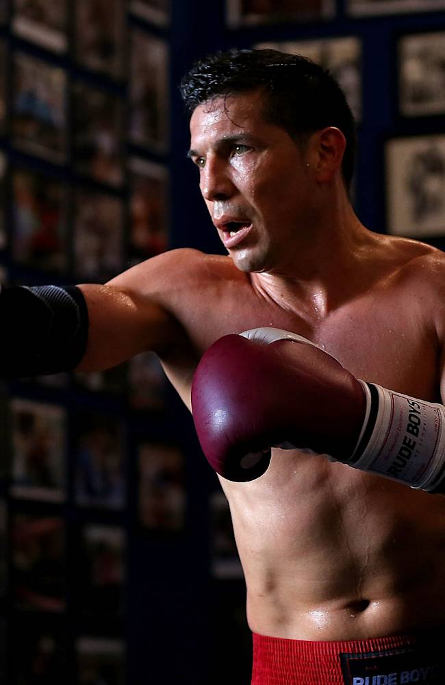 Sergio Martinez Open Workout