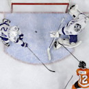Philadelphia Flyers' Michael Raffl (12), of Austria, scores a goal past Tampa Bay Lightning's Ben Bishop (30) and Ryan Callahan (24) during the second period of an NHL hockey game, Monday, Jan. 12, 2015, in Philadelphia The Associated Press