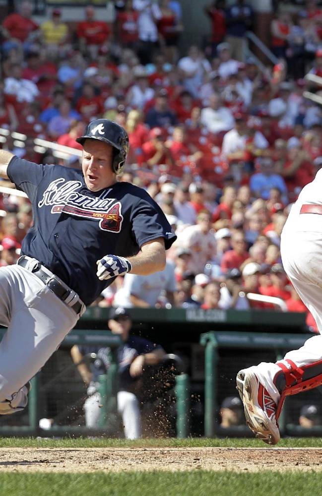 Minor bounces back to lift Braves over Cards