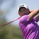 Stacy Lewis of the U.S. tees off the fourth hole during the third round of the Manulife Financial LPGA Classic women's golf tournament at the Grey Silo course in Waterloo, June 7, 2014.    REUTERS/Mark Blinch