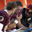 Redskins' RG3 speaks, says he won't rush return (Yahoo Sports)