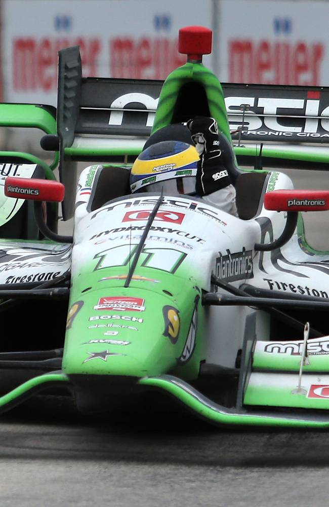 Bourdais earns first IndyCar win of season