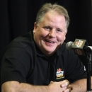 FILE - In this Jan. 3, 2013 file photo, Oregon head coach Chip Kelly laughs as he answers a reporter's question during media day for the Fiesta Bowl NCAA college football game in Scottsdale, Ariz. The Philadelphia Eagles have hired Kelly after he originally chose to stay at Oregon. Kelly becomes the 21st coach in team history and replaces Andy Reid, who was fired on Dec. 31 after a 4-12 season. (AP Photo/Paul Connors, File)