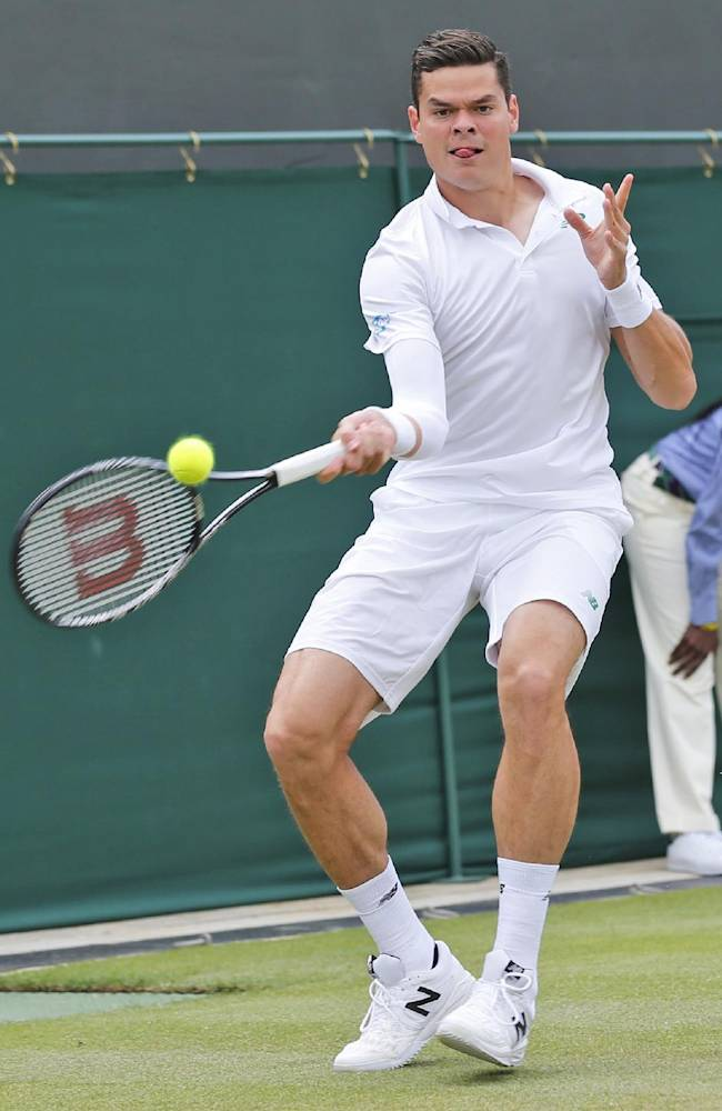 WIMBLEDON WATCH: How do you say Milos?