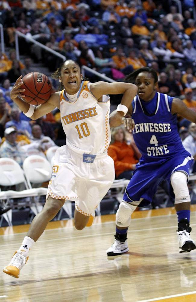 No. 3 Lady Vols trounce Tennessee State 94-43