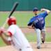 New York Mets starting pitcher Jonathon Niese throws  against the St. Louis Cardinals during a basesball game Thursday, May 16, 2013, in St. Louis