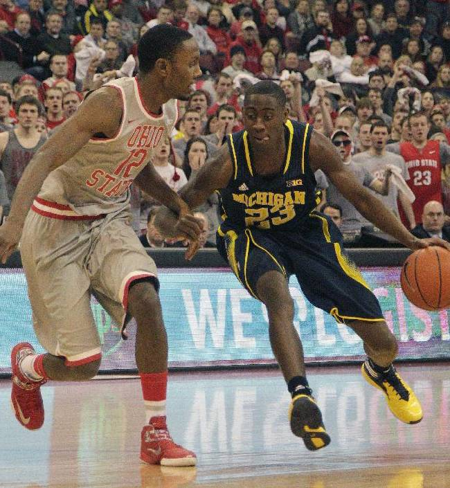 Stauskas leads No. 15 Michigan past No. 22 Ohio St