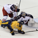 Wilson scores late, Predators beat Blue Jackets The Associated Press