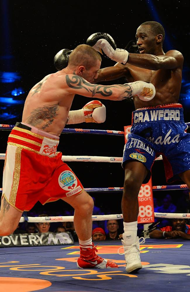 Ricky Burns v Terence Crawford - WBO World Lightweight Championship