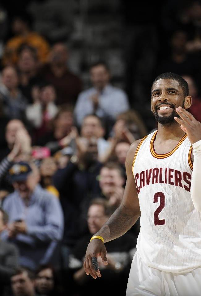Irving dazzles, scores 55 as Cavs win 8th straight game