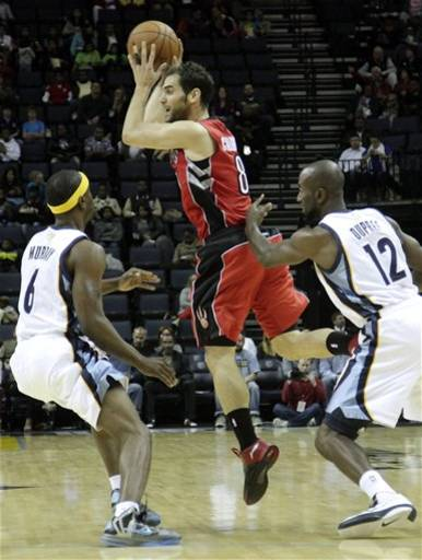 Raptors Grizzlies Basketball