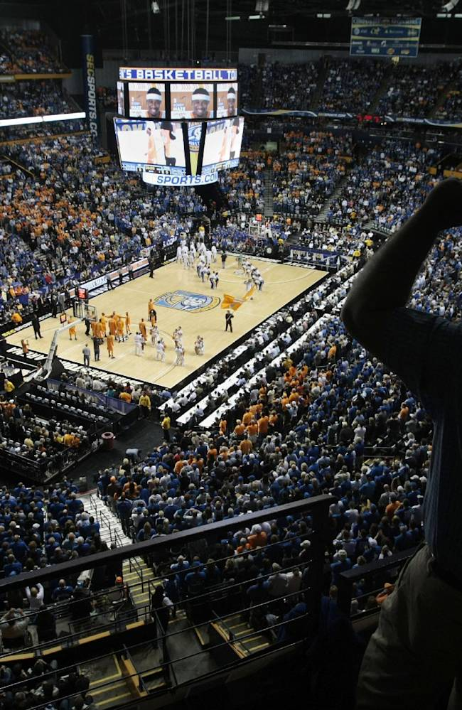 SEC makes Nashville primary site for men's tourney
