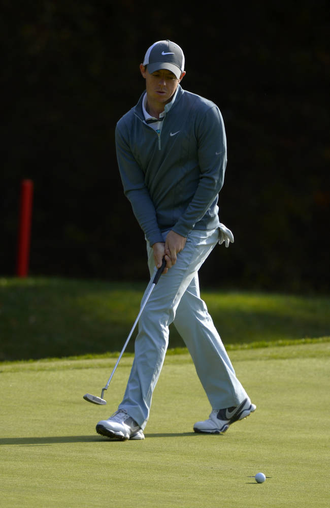 On Golf: The disappearing act of Rory McIlroy