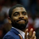 Cavs' Irving tests knee with brace, questionable for Game 3 The Associated Press