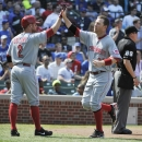 Cincinnati Reds v Chicago Cubs Getty Images